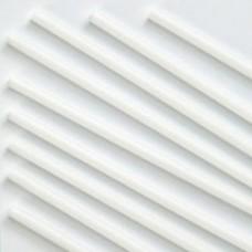 Палочка (трубочка) для воздушных Шаров 37 см диаметр 5 мм Белый