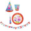 """Набор для праздника """"Пеппа-принцесса"""" на 6 персон, 25 предметов"""