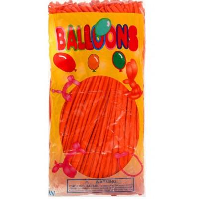 Воздушные шары для моделирования, оранжевые