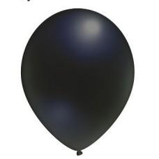 Воздушный шар черный 12''