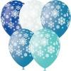 Воздушные шарики Снежинки