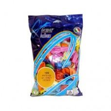 Воздушные шарики 5'', (12 см), цвета ассорти, 1 шт
