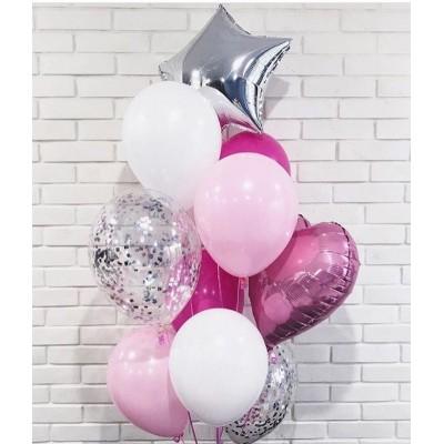 """Сет воздушных шаров  """"Розовое облако"""""""