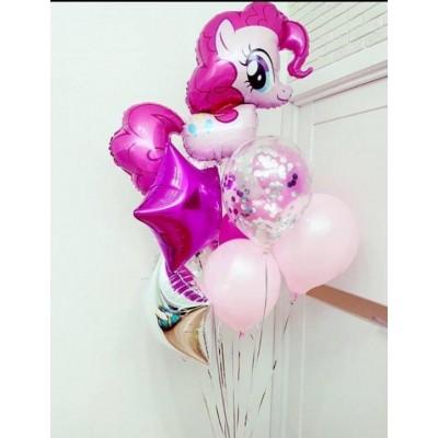"""Сет воздушных шаров  """"Пинки Пай"""""""