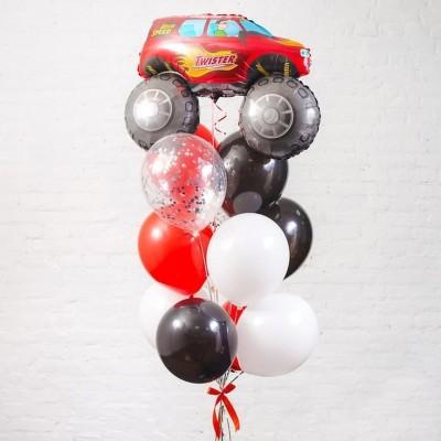 """Сет воздушных шаров  """"Джип"""""""