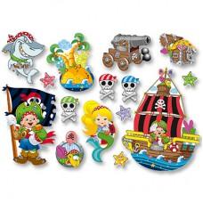 Баннер-комплект Пират Йо-хо-хо 15шт