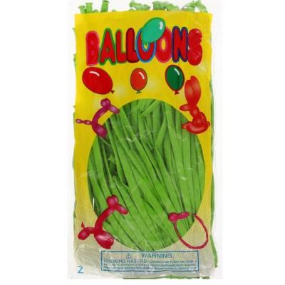Воздушные шары для моделирования, цвет салатовый