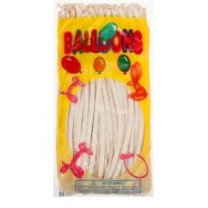 Воздушные шары для моделирования, цвет белый