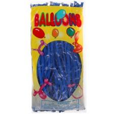 Воздушные шары для моделирования, цвет синий