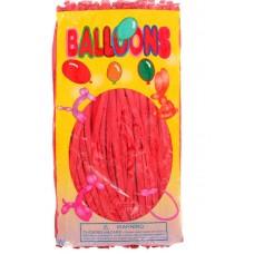 Воздушные шары для моделирования, цвет красный