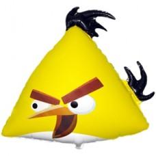 Фольгированный шар Angry Birds Желтая птица (56смх62см)