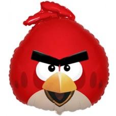 Фольгированный шар Angry Birds Красная птица (53смх61см)