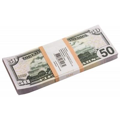 Пачка купюр 50 $