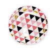 """Бумажные тарелки """"Геометрия"""", 23 см, 6шт"""