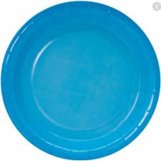 """Бумажные тарелки """"Голубой градиент"""", 18 см, 6шт"""