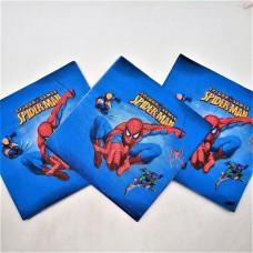 """Бумажные салфетки """"Человек-паук"""""""