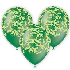 Воздушные шарики на 23 февраля. Милитари