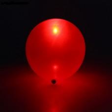 Светящийся воздушный шарик (30 см), Красный