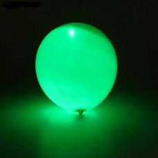 Светящийся воздушный шарик (30 см), Зелёный