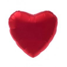 Фольгированный шар Сердце с улыбкой