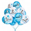 """Воздушный шар """"С рождением сына"""", голубой"""