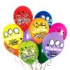 """Воздушный шар """"Поздравляем!"""", цветные 12"""""""