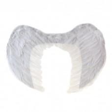 Крылья ангела, 65×40, на резинке, белые