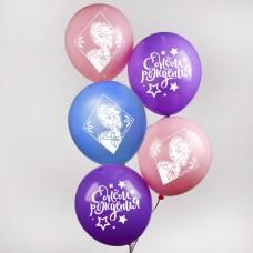 """Воздушные шары «С Днем Рождения», Холодное сердце,12"""""""