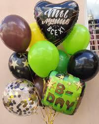 воздушные шарики майнкрафт